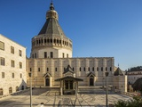 View of the Basilica of the Annunciation Photographic Print by Massimo Borchi