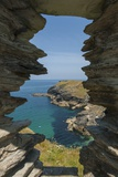 Tintagel Castle Photographic Print by Guido Cozzi