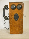 Early Telephone Photographic Print by Buddy Mays