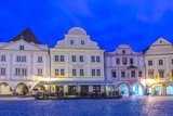 Chesky Krumlov Town Square Photographic Print by Rob Tilley