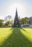 Scott Monument along Princess Street Photographic Print by Guido Cozzi