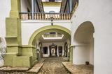 Casa Dos Contos (Museum), the Courtyard Photographic Print by Massimo Borchi
