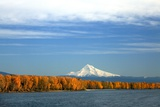 Mt. Hood and Columbia River Photographic Print by Steve Terrill