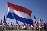 US and Dutch Flag Photographic Print by Joseph Sohm