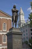 Statue of Revolutionary Patriot, Samuel Adams Photographic Print by Joseph Sohm