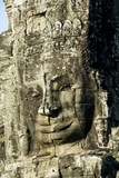 Bayon Temple in Angkor Thom, Siem Reap, Cambodia Reproduction photographique par Ron Dahlquist