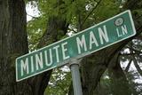 Minute Man Lane, American Revolution Photographic Print by Joseph Sohm