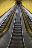 Stairway to Heaven in Washington DC Metrorail Escalator to Mass Transet Trains Photographic Print by Joseph Sohm