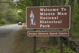 Welcome to Minute Man National Historical Park Photographic Print by Joseph Sohm