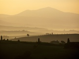 Morning Light over the Tuscan Landscape Photographic Print by Terry Eggers