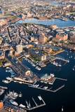Sunrise Aerials of Boston and New England Photographic Print by Joseph Sohm