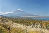 Lake Yamanaka & Mt. Fuji Photographic Print by Rob Tilley
