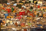 Hillside View of Guanajuato Photographic Print by Craig Lovell