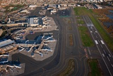 Aerials of Boston Logan International Airport Photographic Print by Joseph Sohm