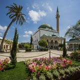 Al-Jazzar Mosque, the Exterior Photographic Print by Massimo Borchi