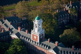 Sunrise Aerials of Eliot House Clock Tower, Harvard, New England Photographic Print by Joseph Sohm