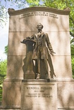 Statue in Boston Commons Photographic Print by Joseph Sohm