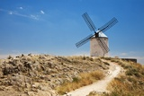 Antique La Mancha Windmills in Consuegra, Spain Photographic Print by Julianne Eggers