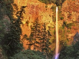 Evening Light on Multnomah Falls Photographic Print by Steve Terrill
