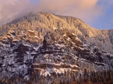 Snow on Yeon Mountain Photographic Print by Steve Terrill