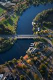 Sunrise Aerials of Boston and New England Photographic Print by Joseph Sohm