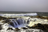 Ocean Storm along Cape Perpetua, Oregon Coast Photographic Print by Craig Tuttle