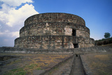Exterior of Temple of Quetzalcoatl Photographic Print by Danny Lehman