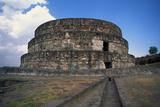 Exterior of Temple of Quetzalcoatl Photographic Print by Danny Lehman