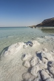 Dead Sea - Salt Deposits Photographic Print by Massimo Borchi