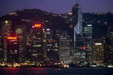 Hong Kong Island at Dusk Photographic Print by Macduff Everton