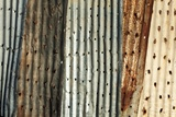 Corrugated Iron Fence, South Africa Photographic Print by Richard Du Toit