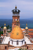 Dome of Puerto Vallarta Church Photographic Print by Danny Lehman