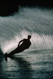 Water Skier in a Slalom Turn Photographic Print by Rick Doyle