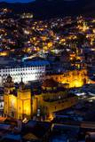 Night Lighting of the City of Guanajuato Photographic Print by Terry Eggers