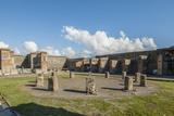 Pompeii, Macellum Photographic Print by Guido Cozzi