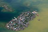 Congested Kuna Village Island Photographic Print by Danny Lehman