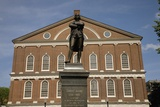 Statue of Revolutionary Patriot, Samuel Adams Photographic Print by Joseph Sohm