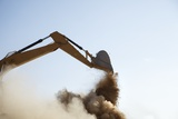 Digger Dumping Sand, South Africa Photographic Print by Richard Du Toit