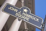 John J Hamrock Square Photographic Print by Joseph Sohm