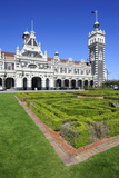 Edwardian Railway Station, Dunedin, Otago, South Island, New Zealand, Pacific Photographic Print by Michael Runkel