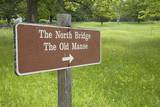 Sign to the North Bridge Photographic Print by Joseph Sohm