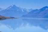Lake Pukaki, Mount Cook National Park, UNESCO World Heritage Site, South Island, New Zealand Photographic Print by Michael Runkel