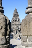 The Prambanan Temple Complex, UNESCO World Heritage Site, Java, Indonesia, Southeast Asia, Asia Reprodukcja zdjęcia autor Michael Runkel