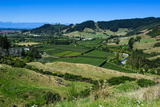 View over the Lush Valley of the Kahurangi National Park, South Island, New Zealand, Pacific Photographic Print by Michael Runkel