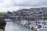 Brixham Harbour and Marina, Devon, England, United Kingdom, Europe Photographic Print by Rob Cousins