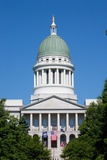 Maine State Capitol Building, Augusta Maine Photographic Print by Joseph Sohm