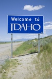 Welcome to Idaho Photographic Print by Joseph Sohm