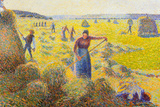 Camille Pissarro La Recolte des Foins Eragny Art Print Poster Posters