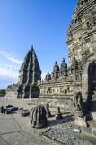 The Prambanan Temple Complex, UNESCO World Heritage Site, Java, Indonesia, Southeast Asia, Asia Reprodukcja zdjęcia autor Michael Runkel