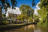 Bourton-On-The-Water, the Cotswolds, Gloucestershire, England, United Kingdon, Europe Fotografisk trykk av Matthew Williams-Ellis